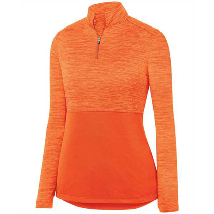 Picture of Ladies' Shadow Tonal Heather 1/4 Zip Pullover
