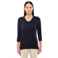 Picture of Ladies' Perfect Fit™ Bracelet-Length V-Neck Top