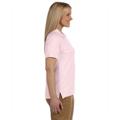 Picture of Ladies' 6.5 oz. Ringspun Cotton Piqué Short-Sleeve Polo