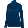 Picture of Ladies' Wicking Fleece Quarter-Zip Pullover
