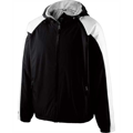 Picture of Adult Polyester Full Zip Hooded Homefield Jacket