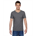 Picture of Adult 4.7 oz. Sofspun® Jersey V-Neck T-Shirt