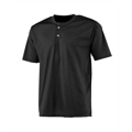 Picture of Youth 2-Button Mesh Henley Jersey