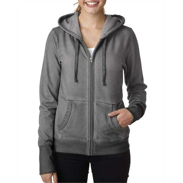 Picture of Ladies' Oasis Wash Full-Zip Hood