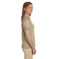 Picture of Ladies' 5.9 oz. Cotton Jersey Short-Sleeve Polo with Tipping