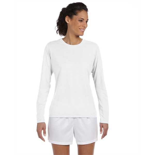 Picture of Ladies' Performance® Ladies' 5 oz. Long-Sleeve T-Shirt