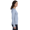 Picture of Ladies' Stretch Rib Long-Sleeve T-Shirt
