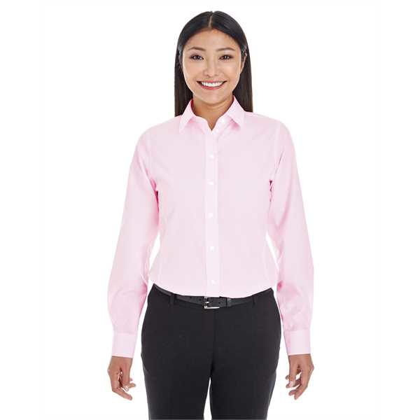 Picture of Ladies' Crown Woven Collection™ Striped Shirt