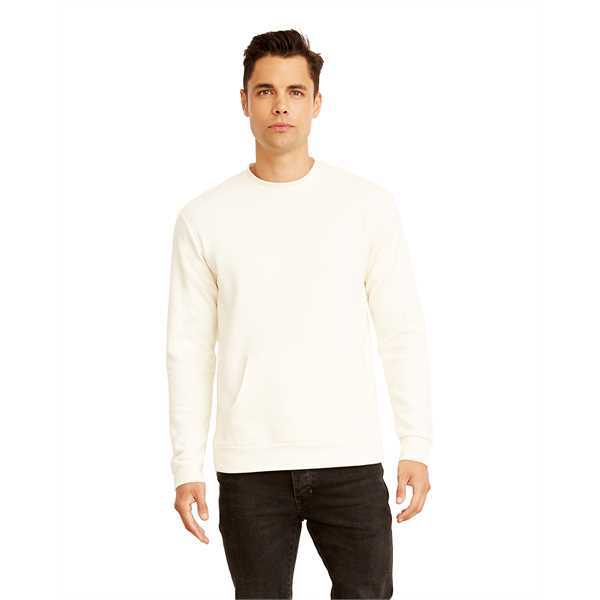 Picture of Unisex Long-Sleeve Crew with Pocket