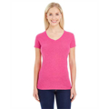 Picture of Ladies' Glitter V-Neck T-Shirt
