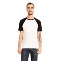 Picture of Unisex Raglan Short-Sleeve T-Shirt