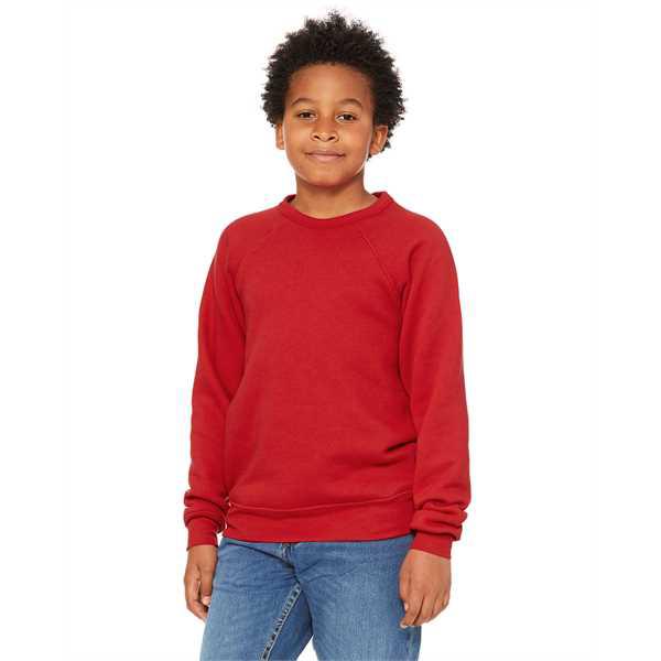 Picture of Youth Sponge Fleece Raglan Sweatshirt