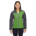 Picture of Ladies' Terrain Colorblock Soft Shell with Embossed Print