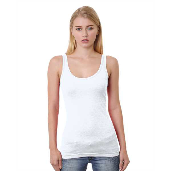 Picture of Junior's 4.2 oz., Fine Jersey Tank Top