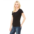 Picture of Ladies' Baby Rib Short-Sleeve Scoop Neck T-Shirt