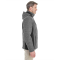 Picture of Men's Midtown Insulated Fabric-Block Jacket with Crosshatch Mélange