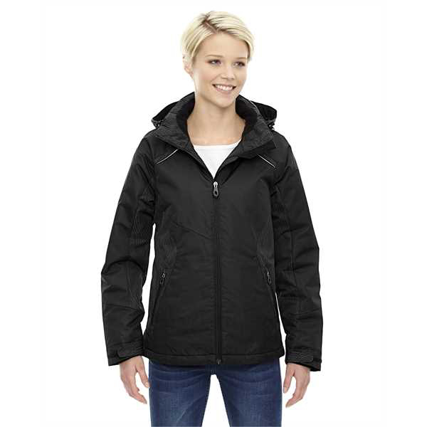 Picture of Ladies' Linear Insulated Jacket with Print