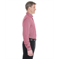 Picture of Men's Central Cotton Blend Mélange Button-Down