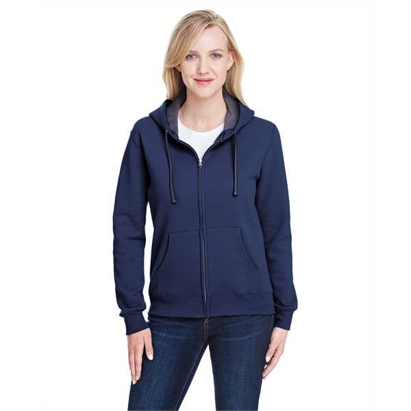 Picture of Ladies' 7.2 oz. Sofspun® Full-Zip Hooded Sweatshirt