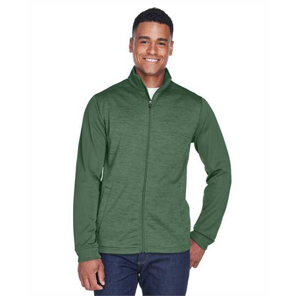 Picture of Men's Newbury Colorblock Mélange Fleece Full-Zip